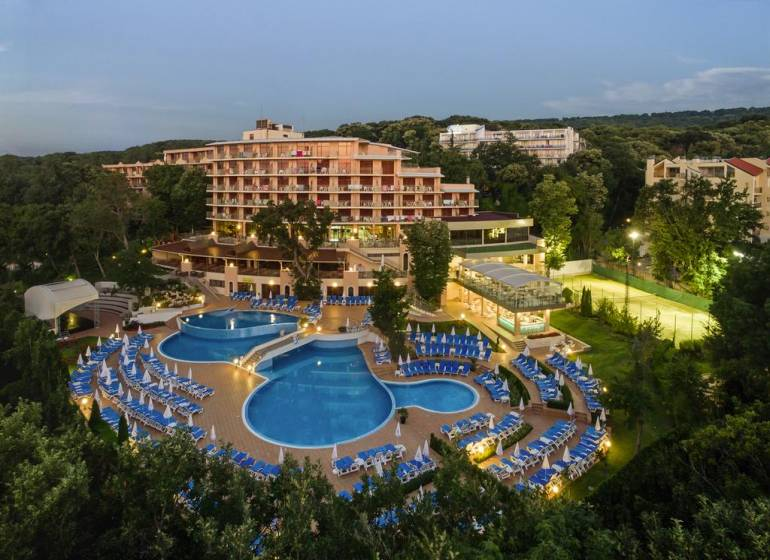 Kristal Hotel,Bulgaria / Nisipurile de aur